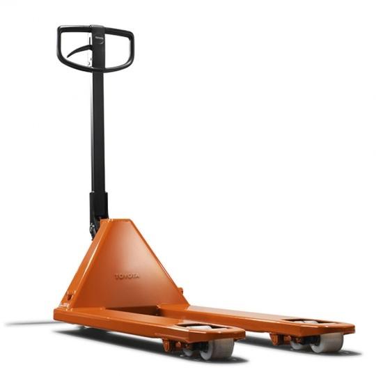 Гидравлическая тележка TOYOTA с быстрым подъемом вил и защитой от перегрузки