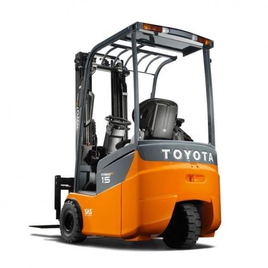 3-опорный 24-вольтовый электропогрузчик Toyota Traigo 24 1,0 т