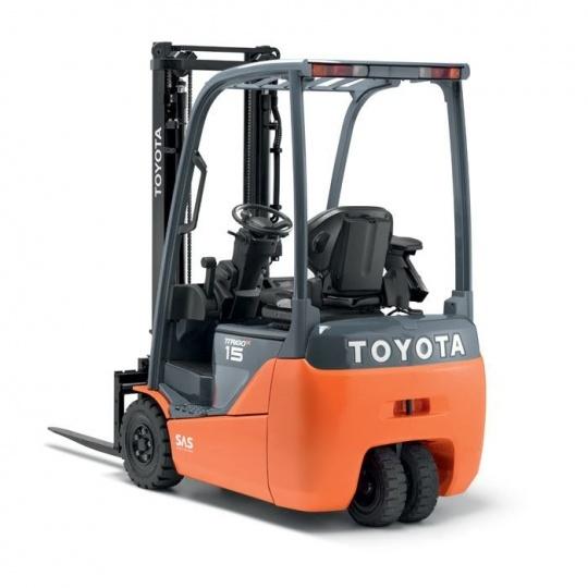 3-опорный электропогрузчик Toyota Traigo 48 1,5 т
