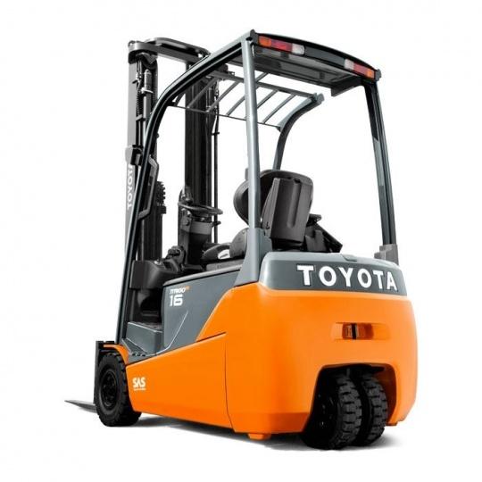 3-опорный электропогрузчик Toyota Traigo 48 1,6 т