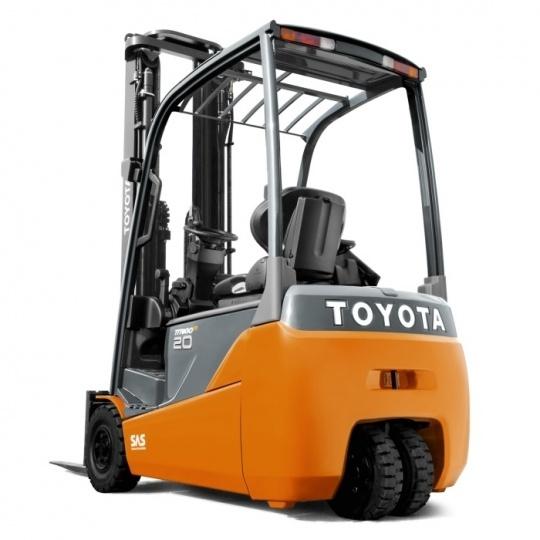 3-опорный электропогрузчик Toyota Traigo 48 2т