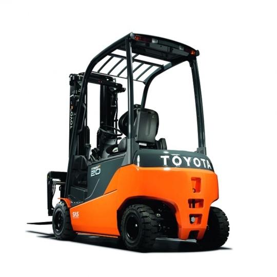 4-опорный компактный электропогрузчик Toyota Traigo 48 2 т