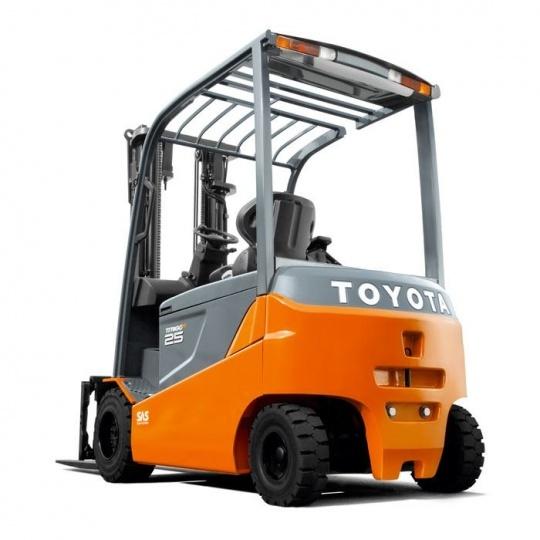4-опорный электропогрузчик Toyota Traigo 80 2,5т