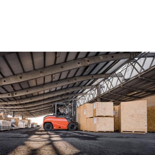 4-опорный электропогрузчик Toyota Traigo 80 6 тонн
