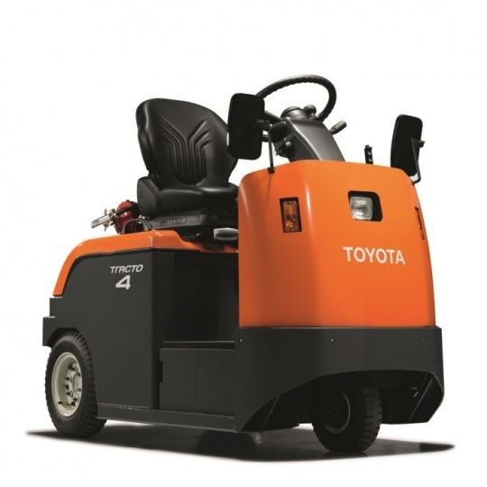 Электрический тягач Toyota Tracto 2т, с местом для водителя