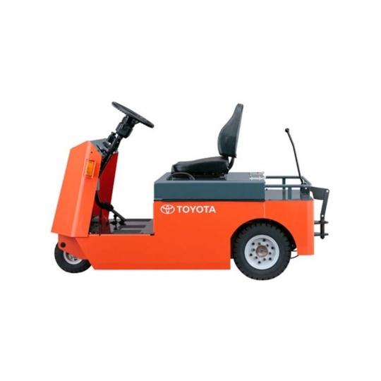 Электрический тягач Toyota Tracto 4т, с местом для водителя